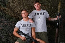 Active Duty gay porn