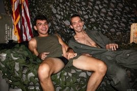 Army guys sucking and fucking