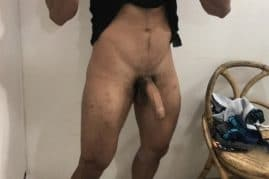 Dick self picture