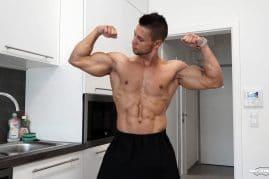 Gay porn star Angelo Godshack