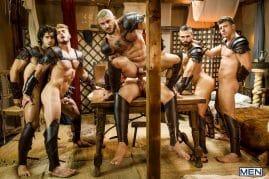 Gay porn star orgy