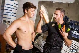 Gay porn stars Alex Mecum and Paul Canon