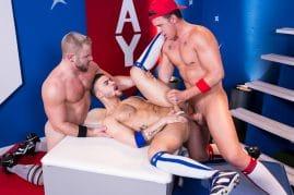 Hothouse threesome gay porn