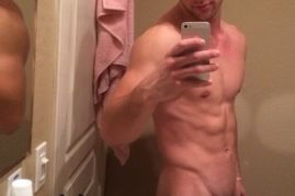 Mirror selfie nude