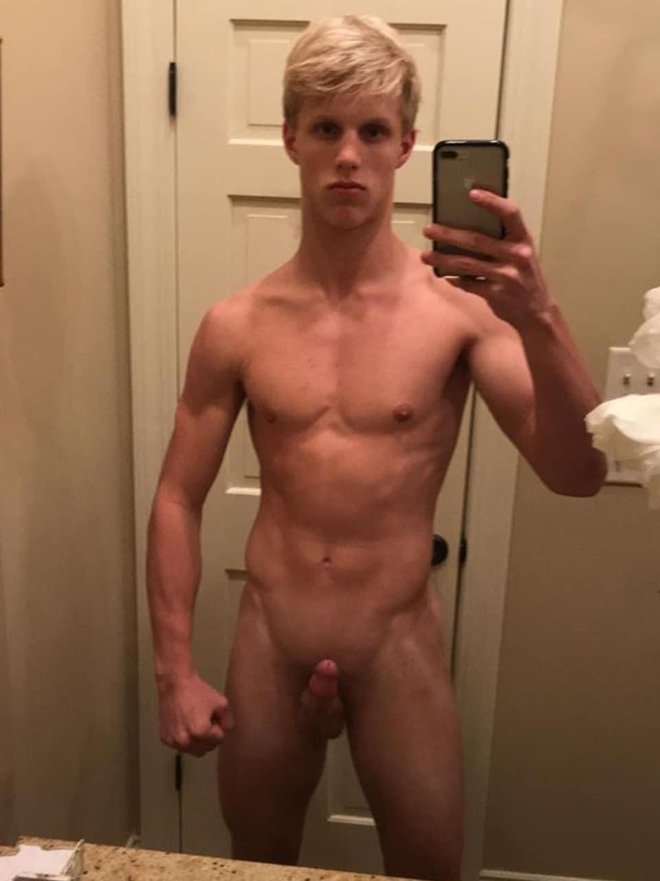 Nude mirror boy