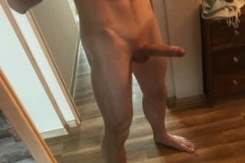 Smooth shaved cock