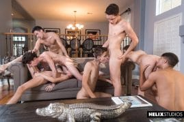 Twink group sex picture