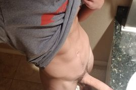 Twink with a big cock